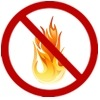 No smoking or flames for Propane Safety